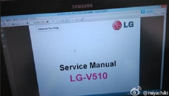 Leaked Service Manual LG-V510