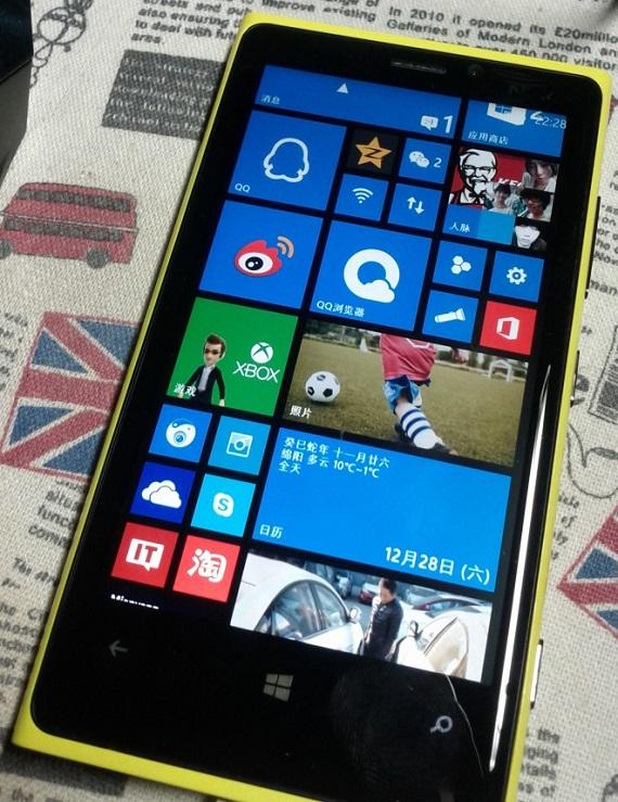 Nokia Lumia 920 Jailbroken