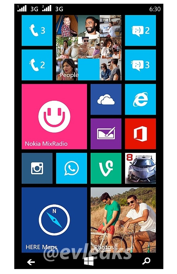 Nokia Moneypenny Lumia 630 635 dual SIM