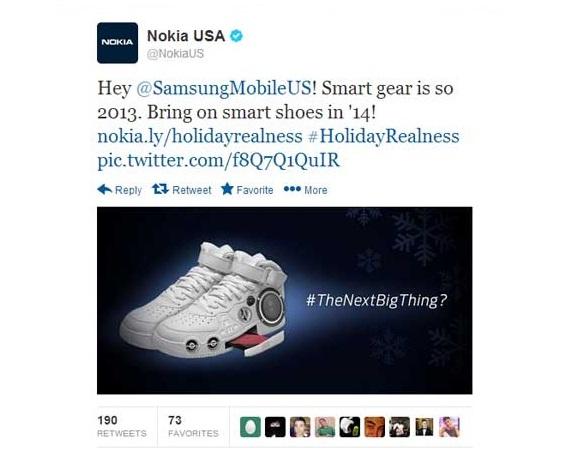 Nokia Samsung DogFight