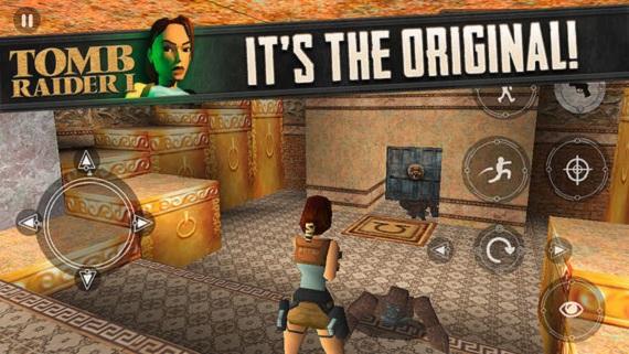 Original Tomb Raider iOS
