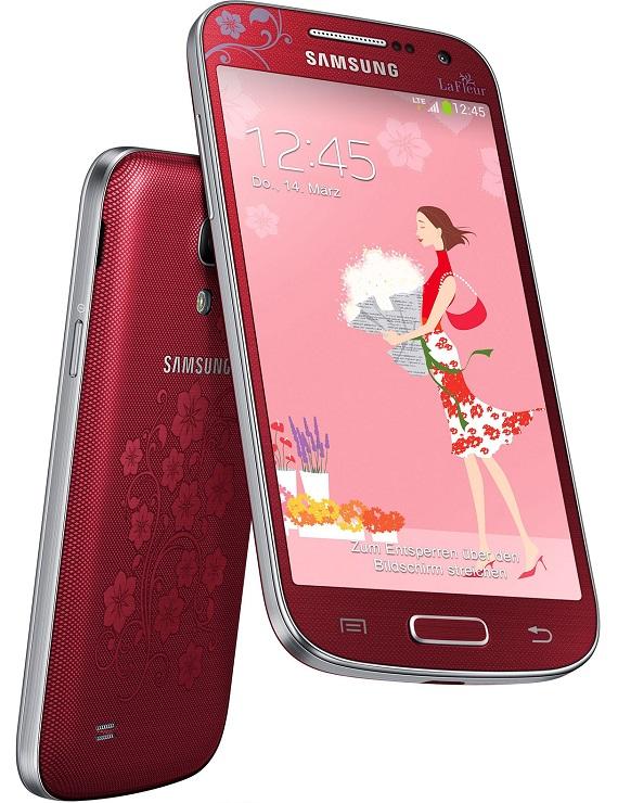 Samsung Galaxy S4 mini la fleur