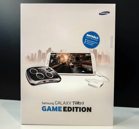Samsung Galaxy Tab 3 Game Edition