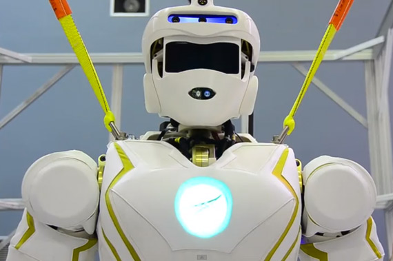 Valkyrie NASA- new superhero robot