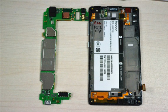 Huawei Honor 3C teardown