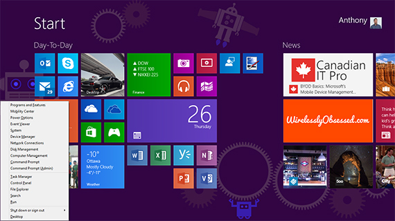 Windows 8 Tips