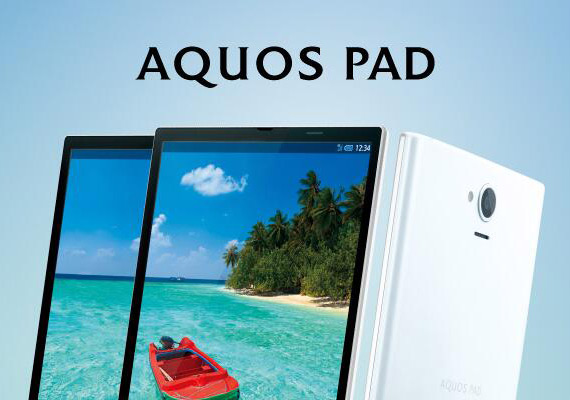 AQUOS PAD SHT22 Japan
