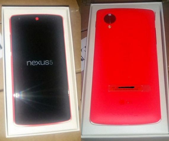 Nexus 5 red revealed