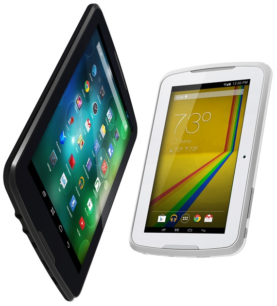 Polaroid Q8 and Q7 (white)