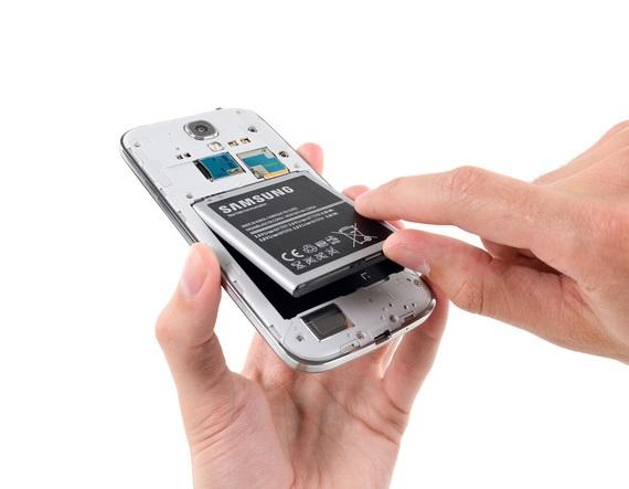 Samsung Galaxy S4 back