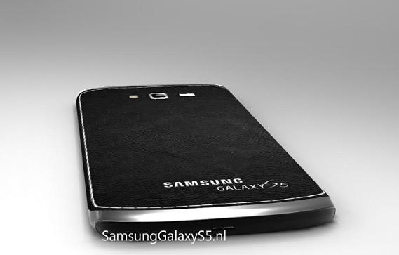 Samsung Galaxy S5 leather concept
