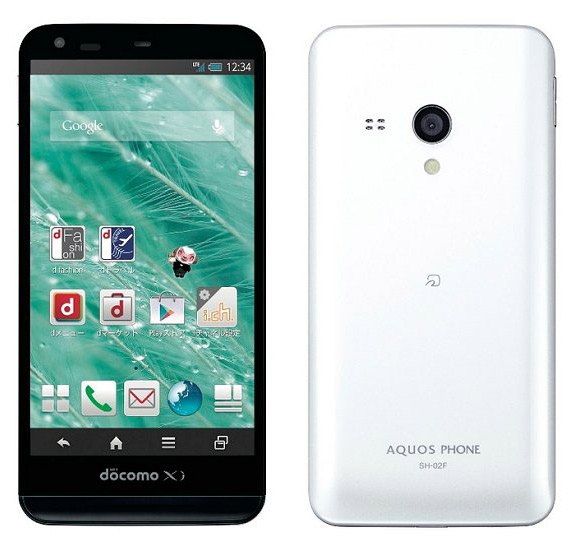 Sharp AQUOS PHONE EX SH-02F