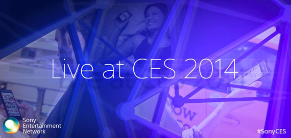 Sony CES 2014 live