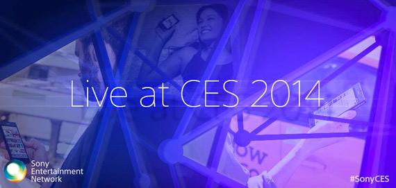 Sony CES 2014 live