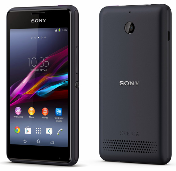 Sony Xperia E1 revealed