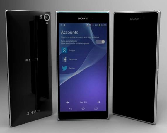 Sony Xperia Z2 render