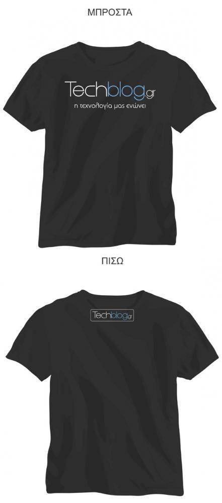Techblog t-shirt