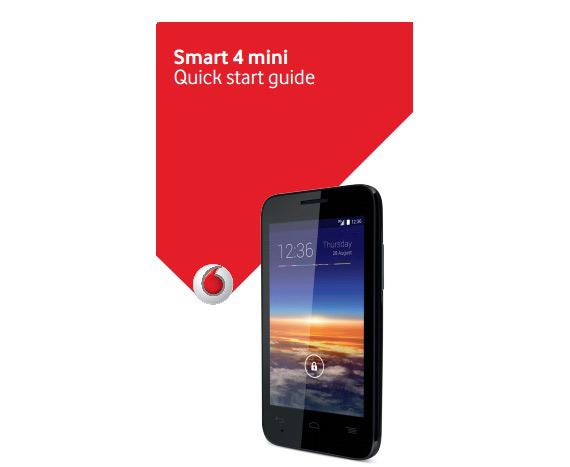 Vodafone Smart 4 mini leaked
