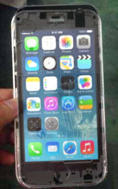 iPhone 6 metal chasis