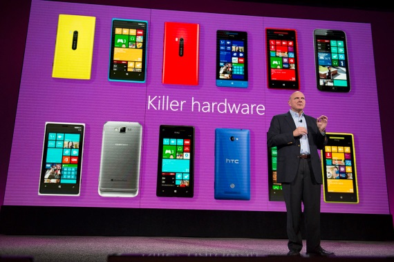 microsoft pay companies to produce wp8 handsets