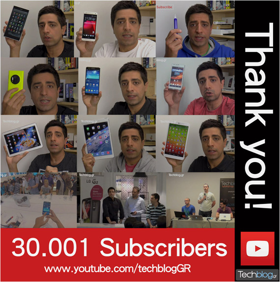 techblogTV 30000 subscribers