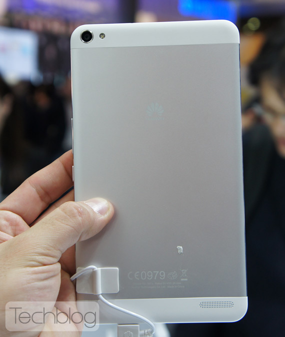 Huawei MediaPad X1 TechblogTV MWC 2014