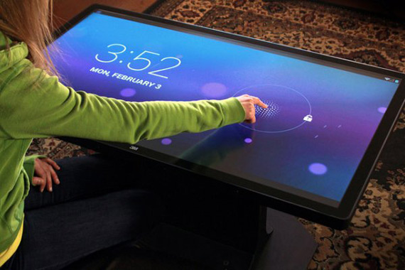 Ideum and 3M Android coffee table