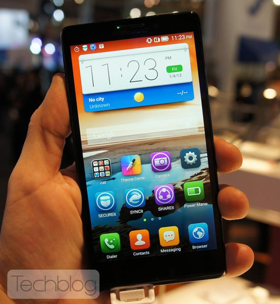 Lenovo Vibe Z hands on MWC 2014