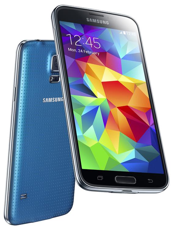 Samsung Galaxy S5 revelaed