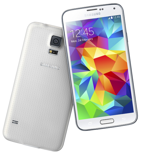 Samsung Galaxy S5 revealed
