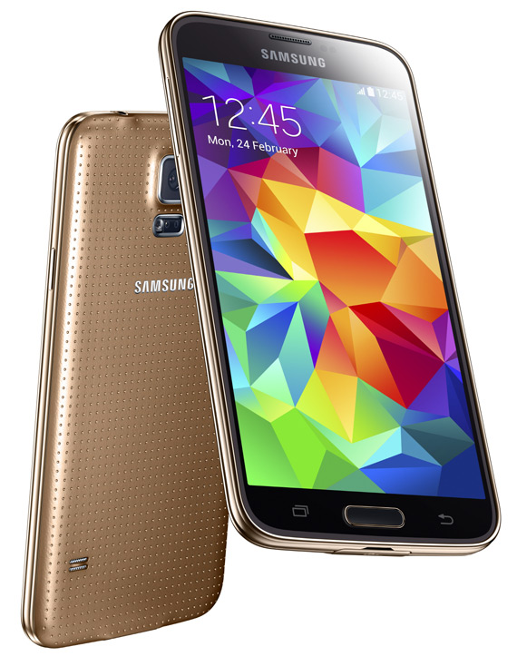 Samsung Galaxy S5 revealed