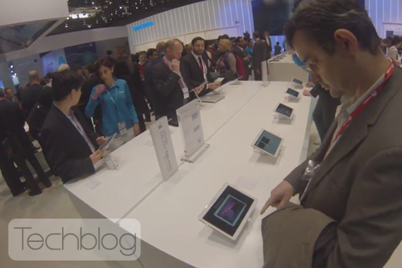 Samsung MWC 2014 booth tour