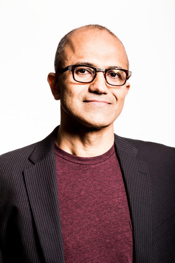 Satya Nadella new CEO Microsoft