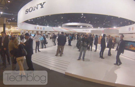 Sony MWC 2014 Booth tour