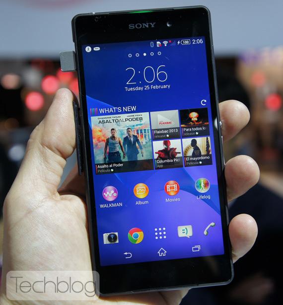 Sony Xperia Z2 TechblogTV MWC 2014