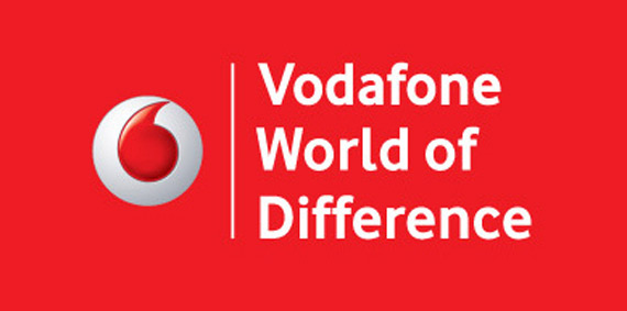 Vodafone World of Difference logo