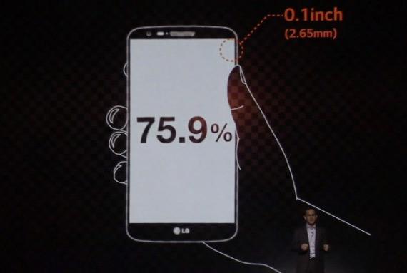 lg g2 display bezel