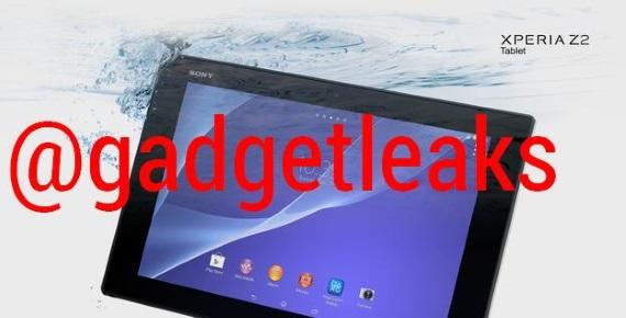 sony xperia tablet z2 leaks big b