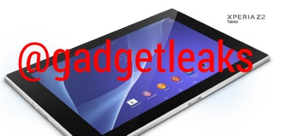 sony xperia tablet z2 leaks big e