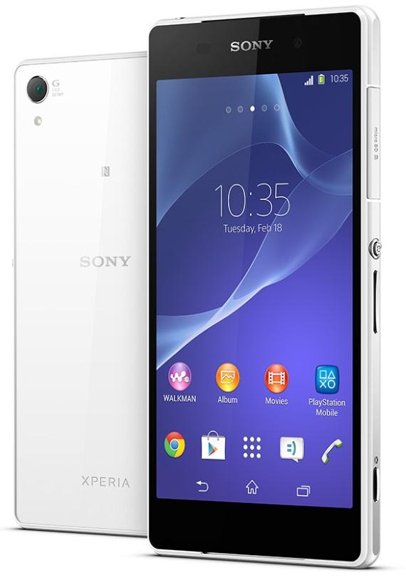 Sony Xperia Z2 πλήρη τεχνικά χαρακτηριστικά και αναβαθμίσεις