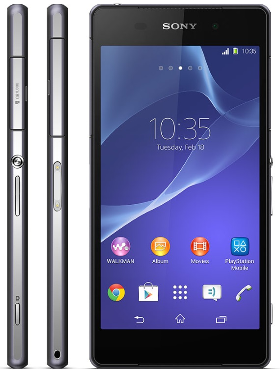 sony xperia z2 official big d