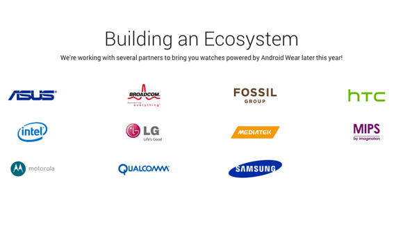 Android Wear ecosystem