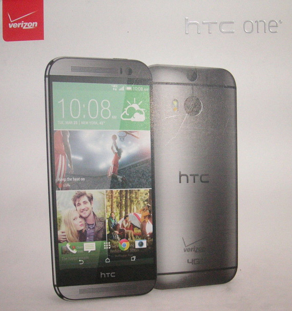 HTC One 2014 box Verizon