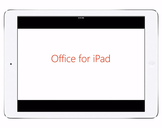 Microsoft Office apps for iPad