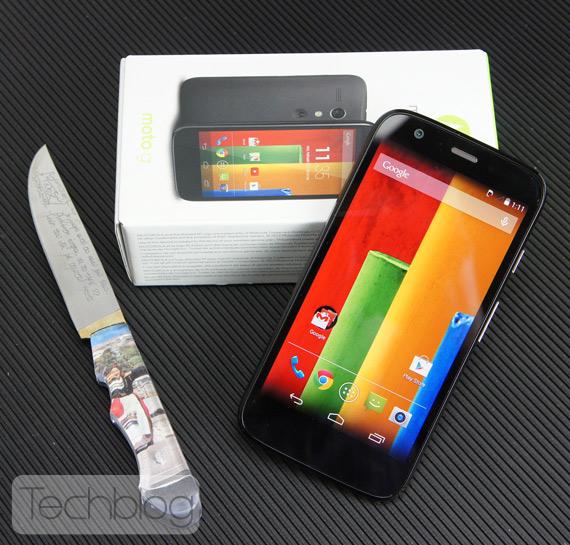 Motorola Moto G unboxing TechblogTV