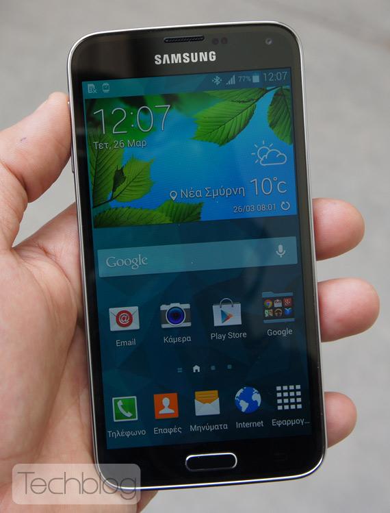 Samsung Galaxy S5 φωτογραφίες hands-on3