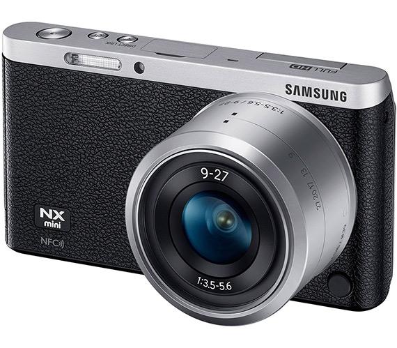 Samsung NX Mini, Η πιο μικρή και ελαφριά mirrorless