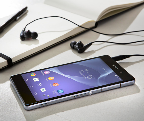 Sony Xperia Z2 με digital noise cancellation