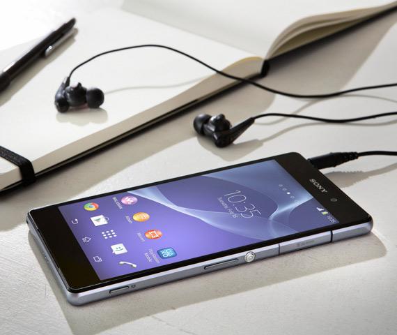 Sony Xperia Z2 με digital noise cancellation