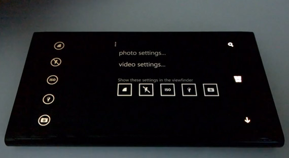 Windows Phone 8.1 camera app